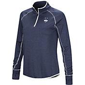 Colosseum Women's UConn Huskies Blue Shark Quarter-Zip Shirt