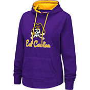 Colosseum Women's East Carolina Pirates Purple Pullover Hoodie
