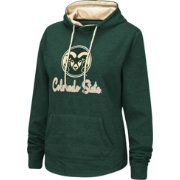 Colosseum Women's Colorado State Rams Green Pullover Hoodie