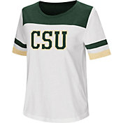 Colosseum Women's Colorado State Rams Show Me The Money White T-Shirt