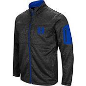 Colosseum Men's Duke Blue Devils Glacier Full-Zip Black Jacket