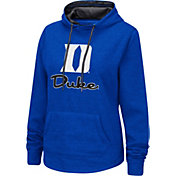 Colosseum Women's Duke Blue Devils Duke Blue Pullover Hoodie