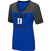 Colosseum Women's Duke Blue Devils Duke Blue/Grey The Whole Package T-Shirt