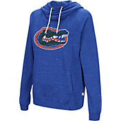 Colosseum Women's Florida Gators Blue I'll Go With You Pullover Hoodie
