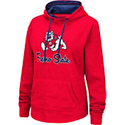 Colosseum Women's Fresno State Bulldogs Cardinal Pullover Hoodie