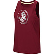 Colosseum Women's Florida State Seminoles Garnet Bet On Me Muscle Tank Top
