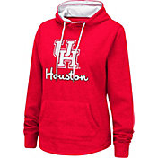 Colosseum Women's Houston Cougars Red Pullover Hoodie
