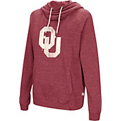 Colosseum Women's Oklahoma Sooners Crimson I'll Go With You Pullover Hoodie