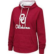 Colosseum Women's Oklahoma Sooners Crimson Pullover Hoodie