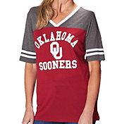 Colosseum Women's Oklahoma Sooners Crimson/Grey The Whole Package T-Shirt