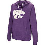 Colosseum Women's Kansas State Wildcats Purple I'll Go With You Pullover Hoodie