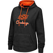 Colosseum Women's Oklahoma State Cowboys Pullover Black Hoodie