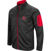 Colosseum Men's Louisiana-Lafayette Ragin' Cajuns Glacier Full-Zip Black Jacket