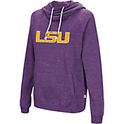 Colosseum Women's LSU Tigers Purple I'll Go With You Pullover Hoodie