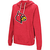 Colosseum Women's Louisville Cardinals Cardinal Red I'll Go With You Pullover Hoodie