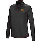 Colosseum Women's Minnesota Golden Gophers Shark Quarter-Zip Black Shirt