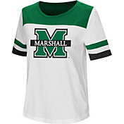 Colosseum Women's Marshall Thundering Herd Show Me The Money White T-Shirt