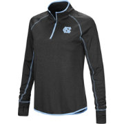 Colosseum Women's North Carolina Tar Heels Shark Quarter-Zip Black Shirt