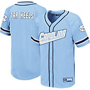 aaa48eee5431 Product Image · Colosseum Youth North Carolina Tar Heels Carolina Blue  Wallis Replica Baseball Jersey