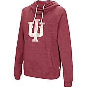 Colosseum Women's Indiana Hoosiers Crimson I'll Go With You Pullover Hoodie