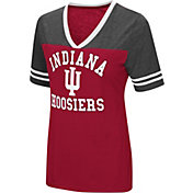 Colosseum Women's Indiana Hoosiers Crimson/Grey The Whole Package T-Shirt