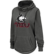 Colosseum Women's Northern Illinois Huskies Grey Pullover Hoodie