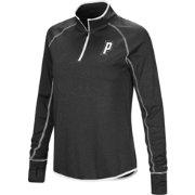 Colosseum Women's Providence Friars Shark Quarter-Zip Black Shirt
