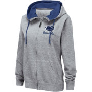 Colosseum Women's Penn State Nittany Lions Grey Full-Zip Hoodie