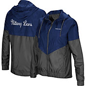 Colosseum Women's Penn State Nittany Lions Blue/Grey First Class Windbreaker Jacket