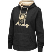 Colosseum Women's Army West Point Black Knights Army Black Pullover Hoodie