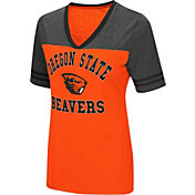 Colosseum Women's Oregon State Beavers Orange/Grey The Whole Package T-Shirt