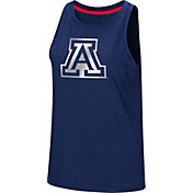 Colosseum Women's Arizona Wildcats Navy Bet On Me Muscle Tank Top