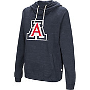 Colosseum Women's Arizona Wildcats Navy I'll Go With You Pullover Hoodie