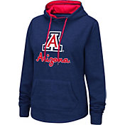 Colosseum Women's Arizona Wildcats Navy Pullover Hoodie