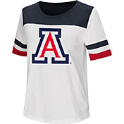 Colosseum Women's Arizona Wildcats Show Me The Money White T-Shirt