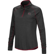 Colosseum Women's South Carolina Gamecocks Shark Quarter-Zip Black Shirt