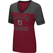 Colosseum Women's South Carolina Gamecocks Garnet/Grey The Whole Package T-Shirt