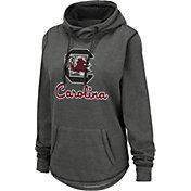 Colosseum Women's South Carolina Gamecocks Grey Pullover Hoodie