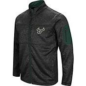Colosseum Men's South Florida Bulls Glacier Full-Zip Black Jacket
