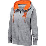 Colosseum Women's Syracuse Orange Grey Full-Zip Hoodie