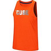 Colosseum Women's Syracuse Orange Orange Bet On Me Muscle Tank Top