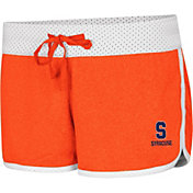 Colosseum Women's Syracuse Orange Orange/White Racine Belles Reversible Shorts