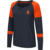 Colosseum Women's Syracuse Orange Orange Dorothy Long Sleeve Raglan T-Shirt