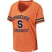 Colosseum Women's Syracuse Orange Orange Savona V-Neck T-Shirt