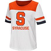 Colosseum Women's Syracuse Orange Show Me The Money White T-Shirt