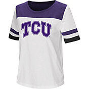 Colosseum Women's TCU Horned Frogs Show Me The Money White T-Shirt