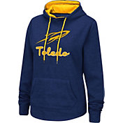 Colosseum Women's Toledo Rockets Midnight Blue Pullover Hoodie