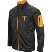 Colosseum Men's Tennessee Volunteers Glacier Full-Zip Black Jacket