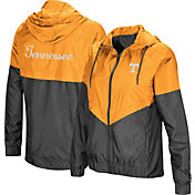 Colosseum Women's Tennessee Volunteers Tennessee Orange/Grey First Class Windbreaker Jacket