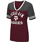 Colosseum Women's Texas A&M Aggies Maroon/Grey The Whole Package T-Shirt